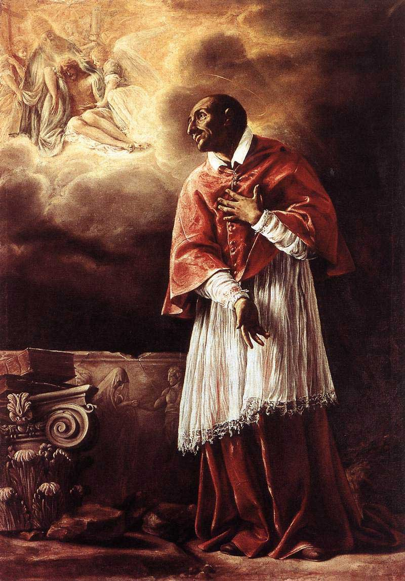 st.Charles Borromeo-Cardinal and principal figure in the Catholic Reformation