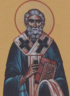st.Cyril of Jerusalem