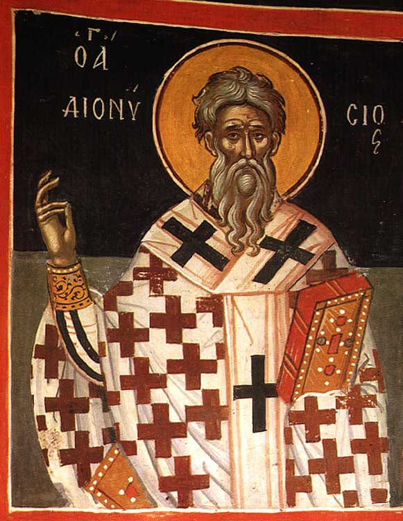 st.Dionysius of Alexandria-Bishop of Alexandria, Father of the Church