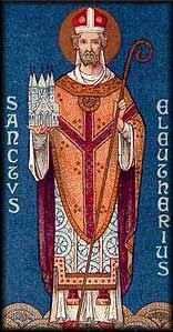 st.Eleutherius-Pope