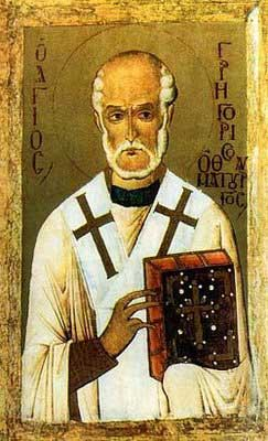 st.Gregory Thaumaturgus-Bishop of Neocaesarea renowned for his miracles, Father of the Church