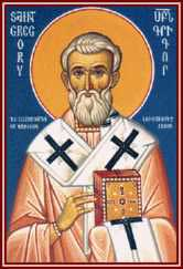 st.Gregory the Illuminator-National saint and patron of Armenia, the first Christian state