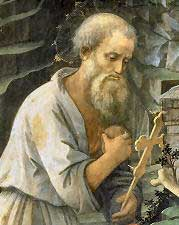 st.Hilarion-Ascetic and hermit, founder of the anchorite life in Palestine, miracle-worker