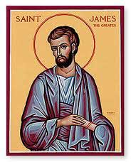 st.James the Greater, Apostle-One of Jesus' Twelve Disciples; martyr