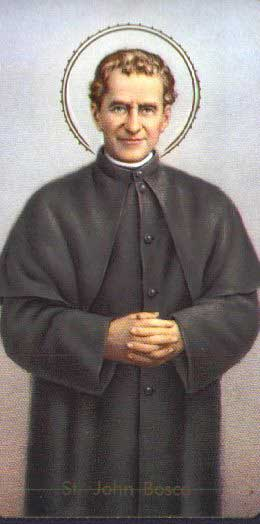 st.John Bosco-Founder of the Society of St. Francis de Sales, known as the Salesians