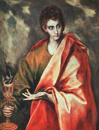 st.John the Divine-Youngest of Jesus' Twelve Disciples; author of the fourth gospel and the book of Revelation of the New Testament
