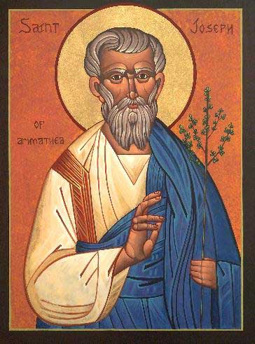 st.Joseph of Arimathea-Figure in the story of Jesus and in Christian lore