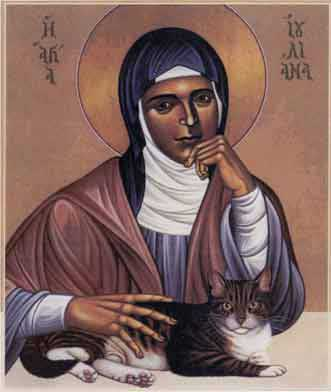 st.Julian of Norwich