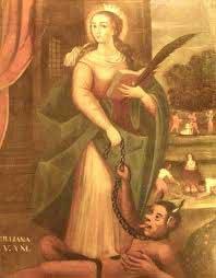 st.Juliana of Cumae
