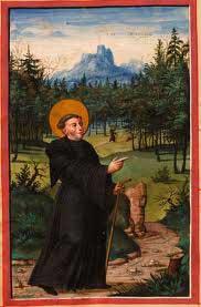 st.Meinrad-Benedictine hermit and martyr