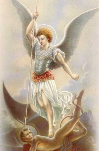 st.Michael the Archangel-The most prominent and greatest angel in Christian, Hebrew and Islamic lore