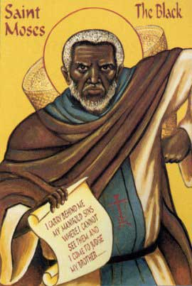 st.Moses the Black