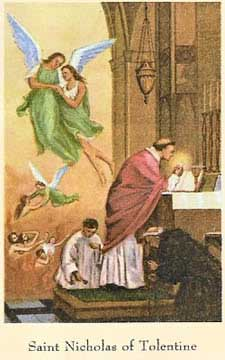 st.Nicholas of Tolentino