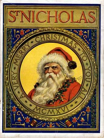 st.Nicholas-Bishop of Myra; identified with Santa Claus