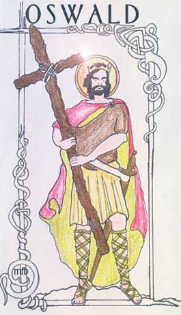 st.Oswald-Martyred king of Northumbria