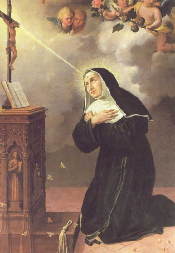 st.Rita of Cascia st.Rita of Cascia-Augustinian nun Patronage: bleeding; desperate, impossible and hopeless causes; infertility; against marital problems; parenthood -spreadjesus.org