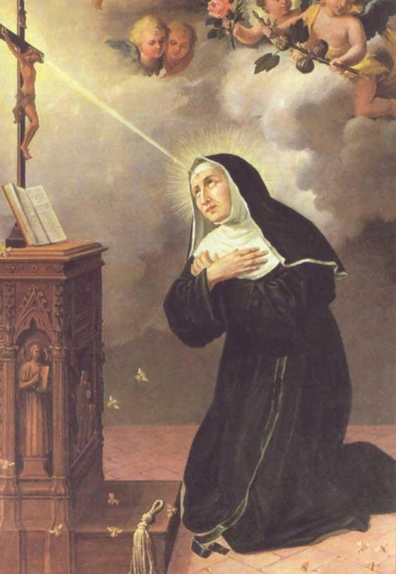 st.Rita of Cascia-Augustinian nun