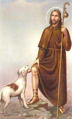st.Roch-Miracle healer, especially of plague victims