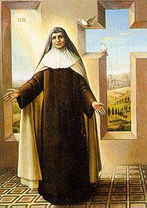 st.Teresa Maria of the Cross-Discalced Carmelite nun