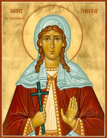 st.Thecla-Virgin and martyr