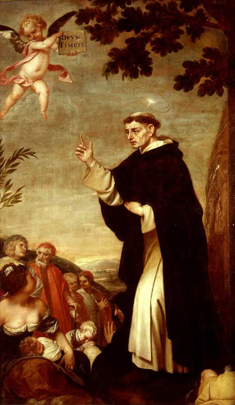 st.Vincent Ferrer-Dominican friar and missionary