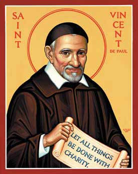 st.Vincent de Paul-Founder of the Congregation of the Mission and the Sisters of Charity, Patron of all Charities