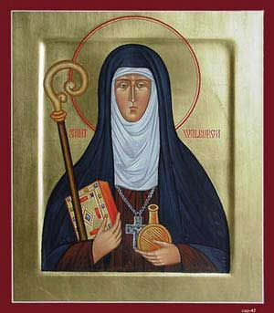 st.Walburga-Abbess
