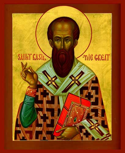 st.Basil the Great-One of the greatest Doctors of the Church, Father of the Church, Bishop of Caesarea