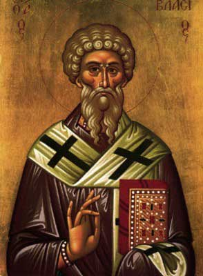 st.Blaise-Bishop of Sebaste, Turkey; martyr