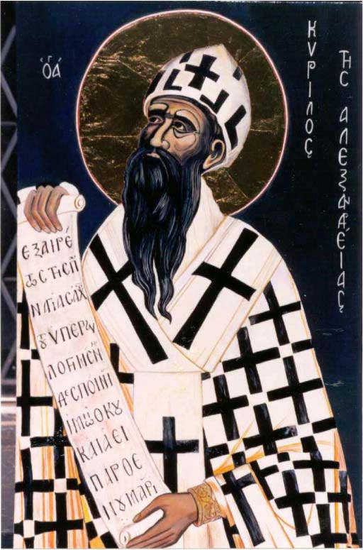 st.Cyril of Alexandria