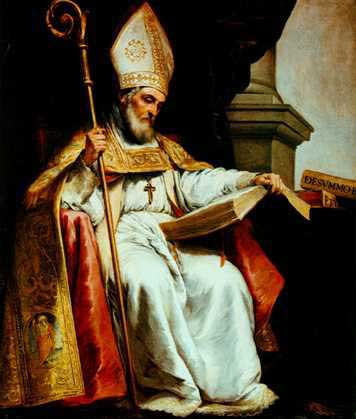 st.Isidore of Seville