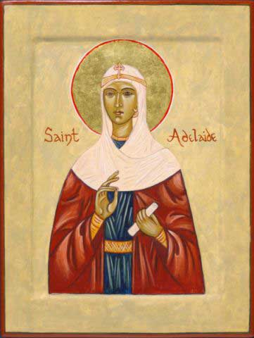 St.Adelaide-Also known as  Adelheid
