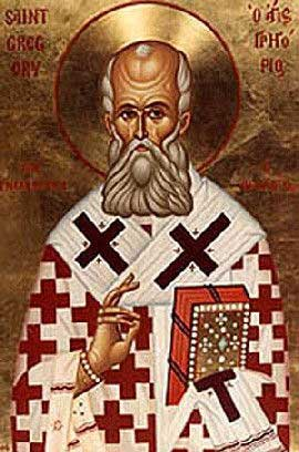 st.Gregory of Nazianzus-Father of the Church; Doctor of the Church