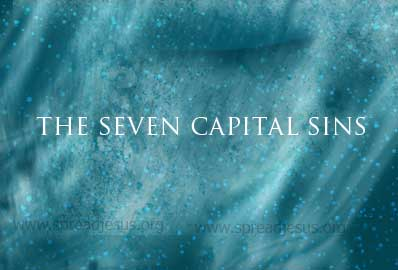 What is the origin of the seven capital sins? As commonly listed today, the seven deadly or capital sins are pride, envy, anger, sloth, avarice, gluttony lust.