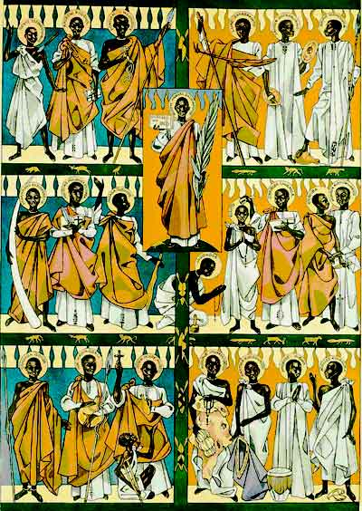 Ugandan Martyrs Saint of The day