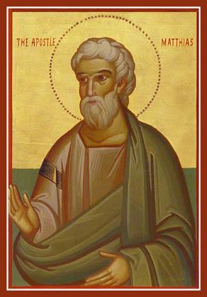 THE TWELVE APOSTLES-MATTHIAS
