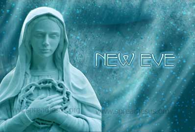 Mary New Eve It is based on and reaffirms the fact that Jesus is the New Adam, come to undo the Fall of the first Adam.