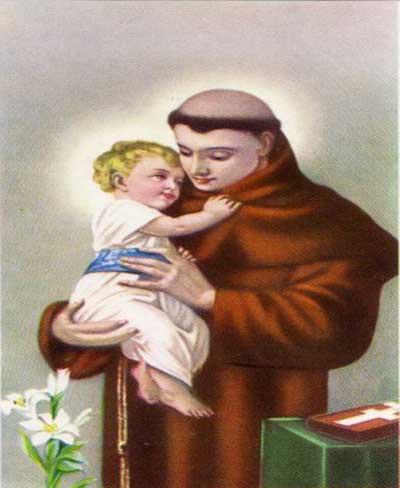 Novena Prayer To Saint Anthony,The Wonder- Worker