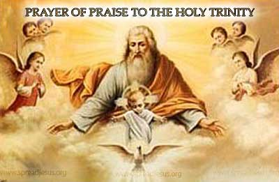 Prayer Of Praise To The Holy Trinity