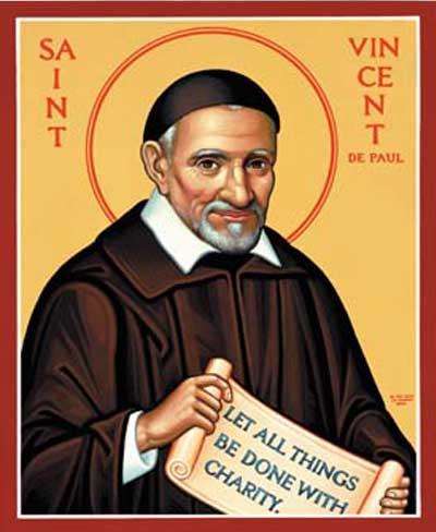 Prayer To Saint Vincent De Paul