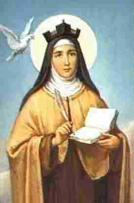 st.Teresa of Avila-Mystic and authority on mystical prayer