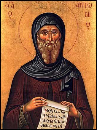 st.Anthony-Credited as a founder of monasticism