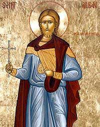 St.Alban-Reportedly the first martyr in England
