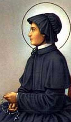 st.Elizabeth Ann Seton-Founder of the Daughters of Charity of St. Joseph and the American parochial school system; first native-born American saint