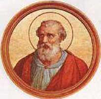 st.Anastasius I-Pope and martyr