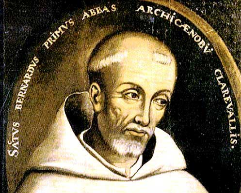 st.Bernard of Clairvaux-Cistercian abbot and Doctor of the Church