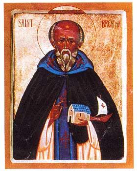 st.Brendan of Clonfort-One of the greatest of Irish saints
