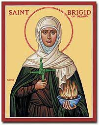 st.Brigid of Ireland-One of the three patron saints of Ireland, along with Patrick and Columba