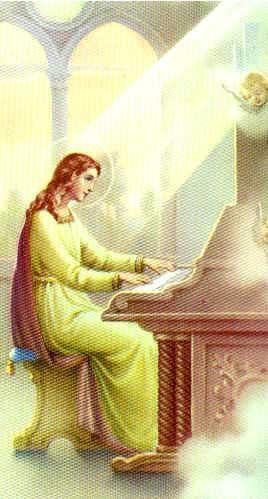 st.Cecilia-Roman virgin and martyr
