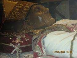 st.Celestine V-Hermit, founder of the Celestines, pope